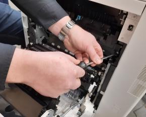 Machine Technische dienst